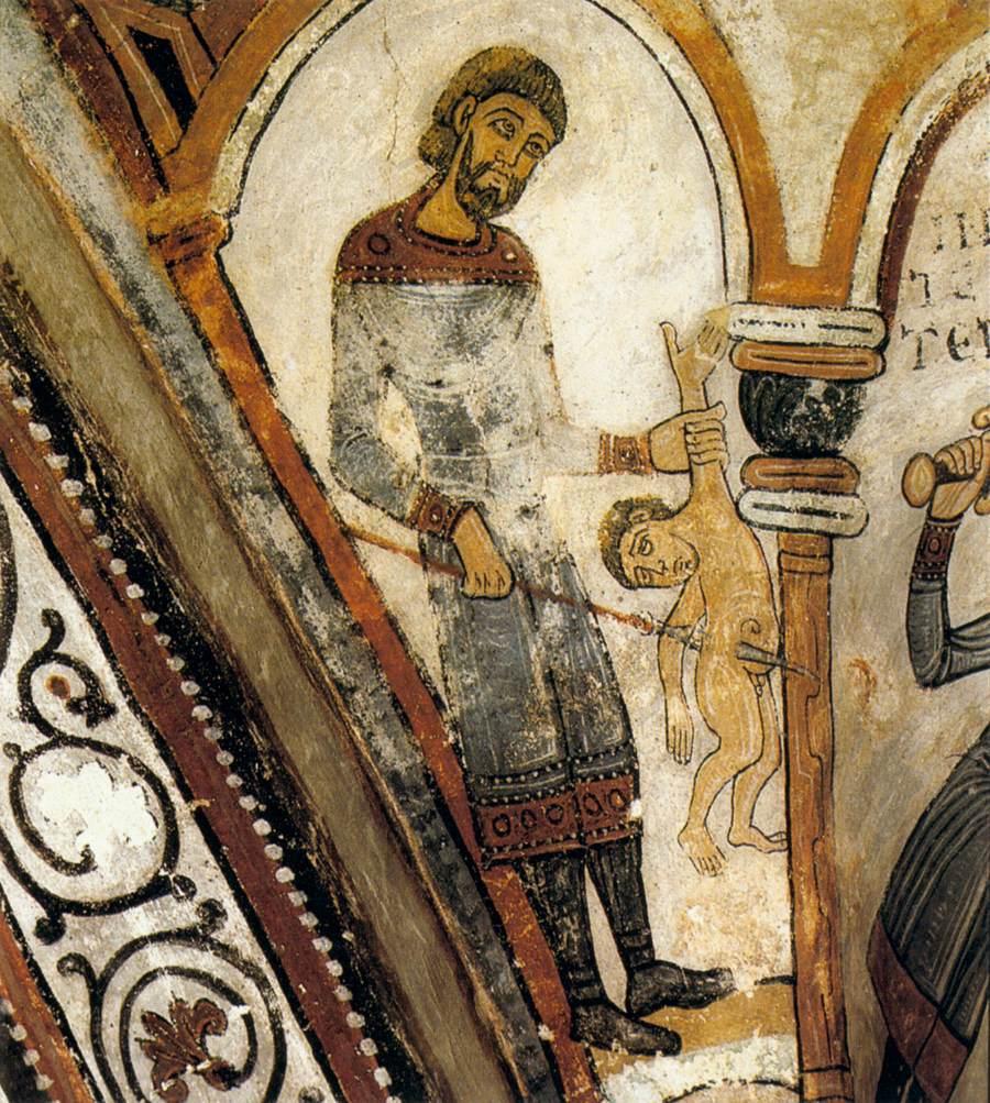 Неизвестный испанский художник, 12 век.