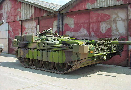 Основной боевой танк Швеции – STRV-103
